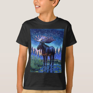 Moose At Dawn T-Shirt