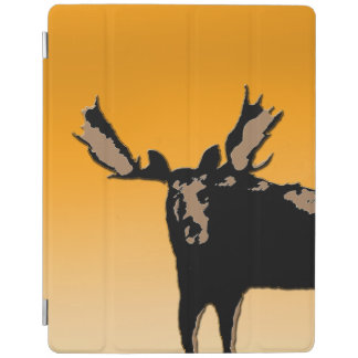 Moose at Sunset iPad Cover