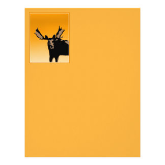 Moose at Sunset Letterhead
