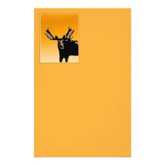 Moose at Sunset Stationery