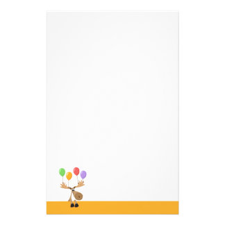 Moose balloons for stationery.ai stationery