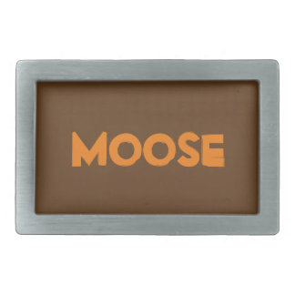 Moose Belt Buckle