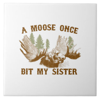 Moose Bite Tile