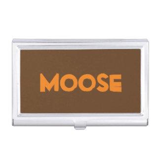 Moose Business Card Holder
