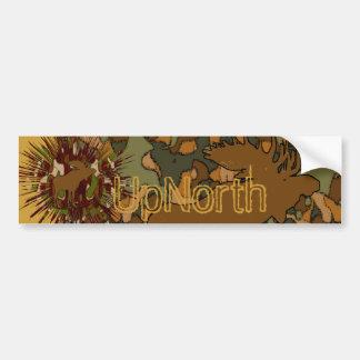 Moose Camouflage Invitations, stickers, stamps, ca Bumper Sticker