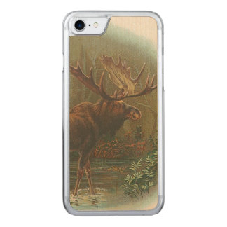 Moose Carved iPhone 7 Case