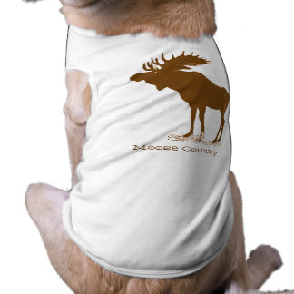 Moose Christmas Dog Shirt