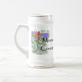 Moose Country Cabin Mug