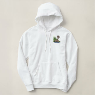 Moose Country Embroidered Hoodie