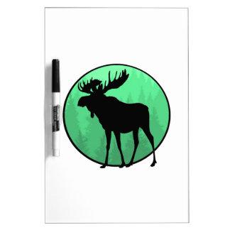 Moose Domain Dry Erase Board