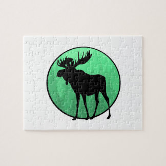 Moose Domain Jigsaw Puzzle