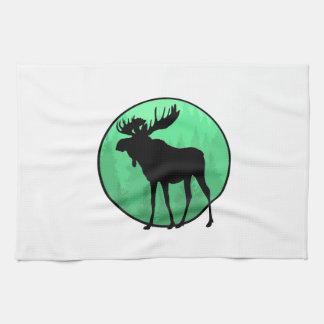 Moose Domain Kitchen Towel