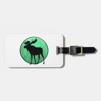 Moose Domain Luggage Tag