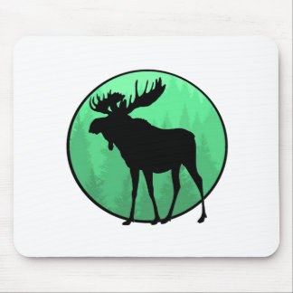 Moose Domain Mouse Pad