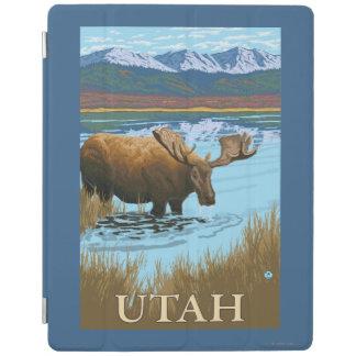 Moose DrinkingUtah iPad Cover