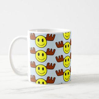 Moose Face Mug