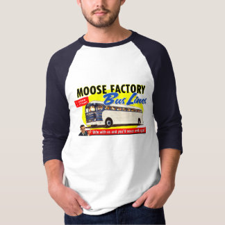 Moose Factory Bus Lines T-Shirt