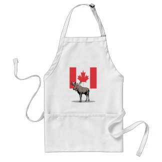 Moose & Flag Standard Apron