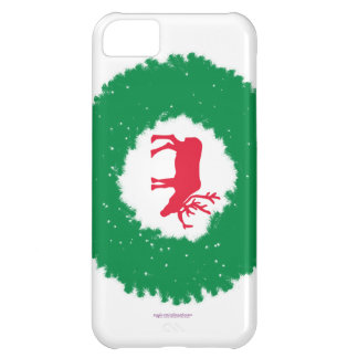 Moose for Christmas   Happy Holiday Moose Cover For iPhone 5C