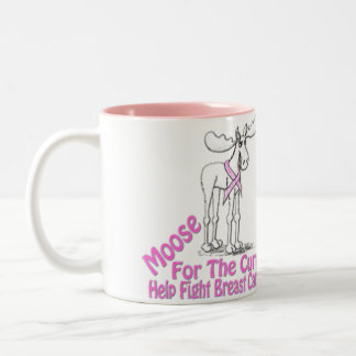 Moose For The Cure Coffee Mug