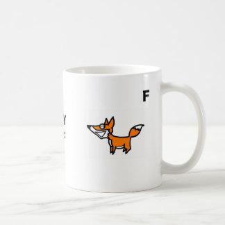 Moose, Fox, SLYMF, M, F Coffee Mug