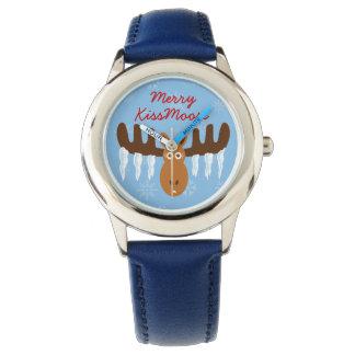 Moose Head_Icicle Antlers_Merry KissMoose Watch