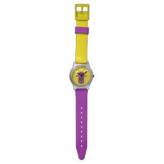 Moose Head Pop Art custom monogram watches