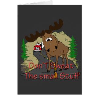 Moose humor card