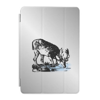 Moose in Stream iPad Mini Cover