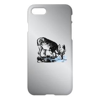 Moose in Stream iPhone 8/7 Case
