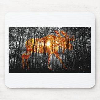 Moose in the Trees Mouse Pad