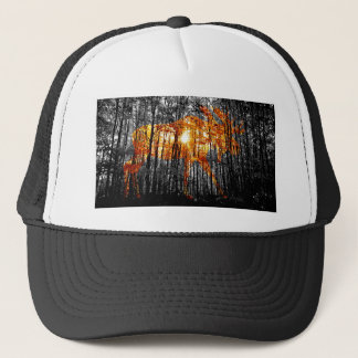 Moose in the Trees Trucker Hat