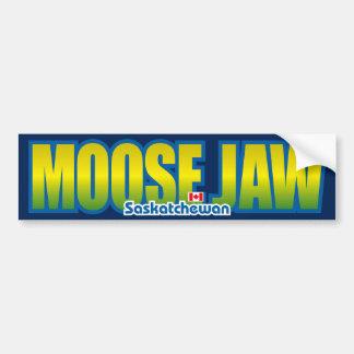 Moose Jaw Bumper Bumper Sticker