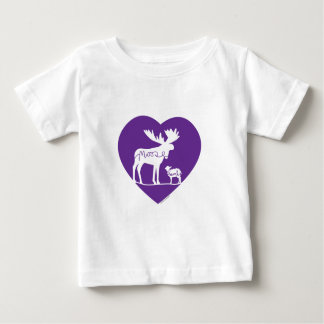 Moose Lamb Love Baby T-Shirt