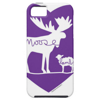 Moose Lamb Love iPhone 5 Case
