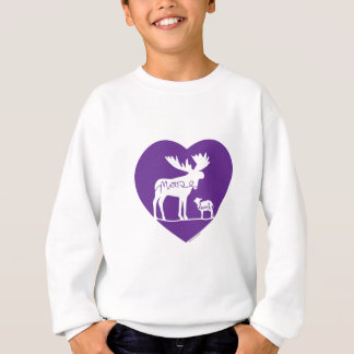 Moose Lamb Love Sweatshirt