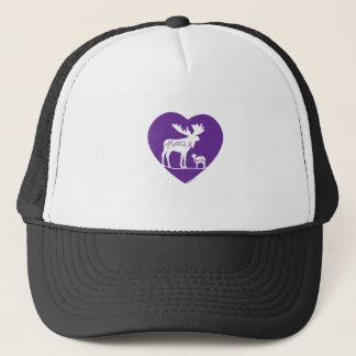 Moose Lamb Love Trucker Hat