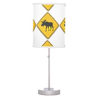 Moose Lamp 1