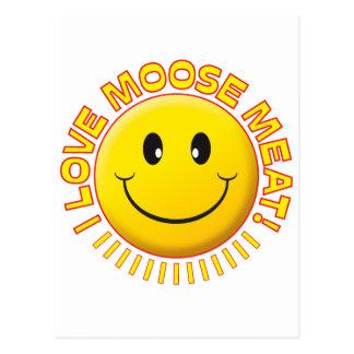 Moose Meat Smile Post Card