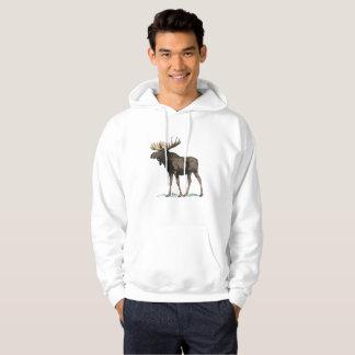 Moose Men's Hooded Camping Sweatshirt