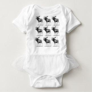 moose mess baby bodysuit