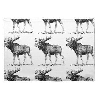 moose mess placemat