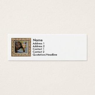 Moose Mini Business Card