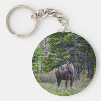 Moose Mother Keychain