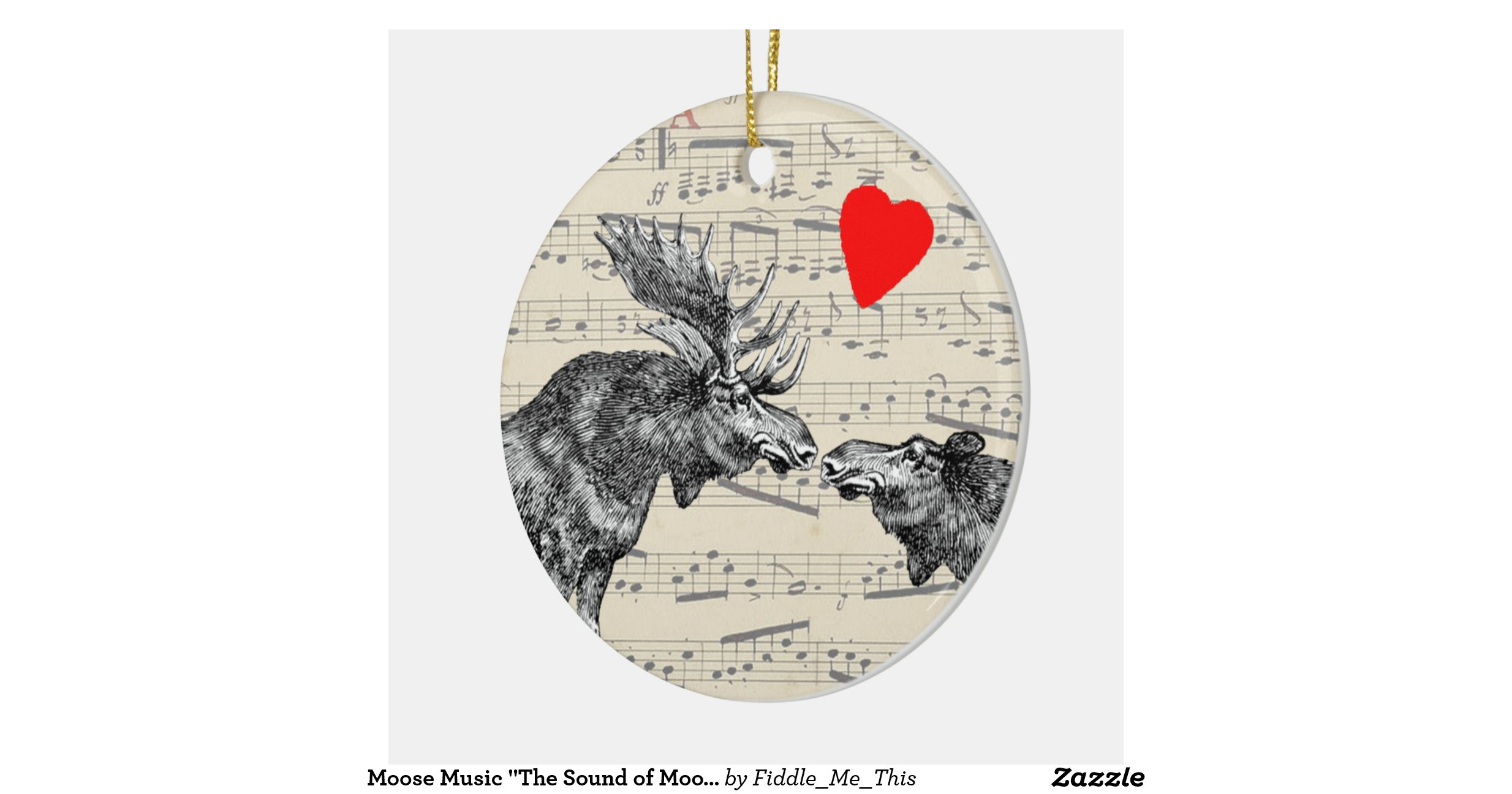 Moose Music The Sound Of Moose Ic Loving Heart Round