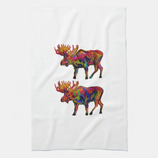 MOOSE OF TWO KITCHEN TOWEL