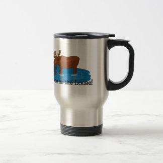 Moose on The Loose Travel Mug