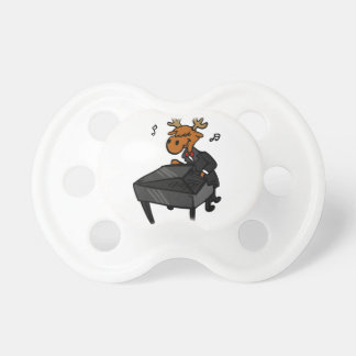Moose pianist pacifier