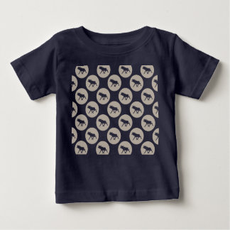 Moose polka dots baby T-Shirt