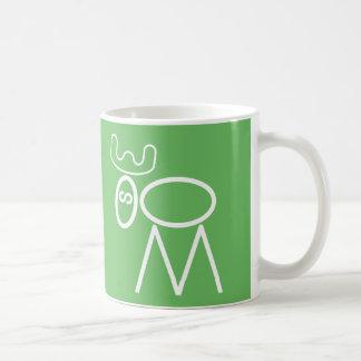 Moose Puzzle Mug
